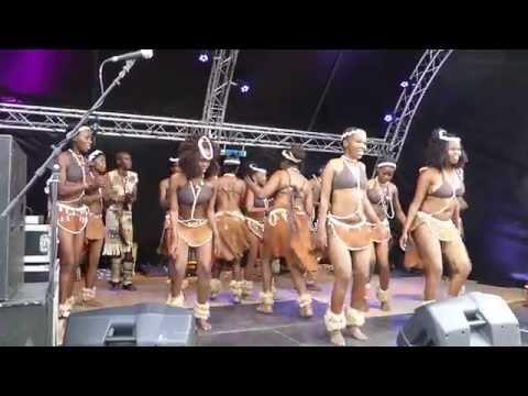 Ngwao Letshwao Performing Art, Botswana #5 on outdoor stage at 50th OpRoakeldais 2015