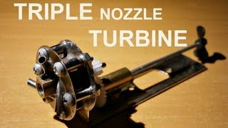 Triple Nozzle Marine Micro Steam Turbine teaser