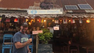 Thailand's Chiang Khan Walking Street  - A Look Around