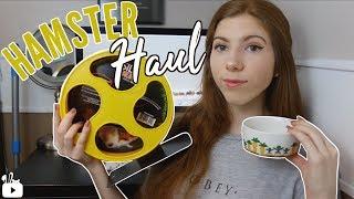 HAMSTER HAUL | new hamster wheels!