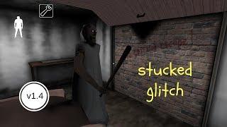 Granny stucked glitch v1.4 granny horror game