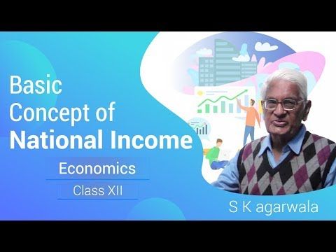Basic Concept of National Income Class XII Economics by S K Agarwala