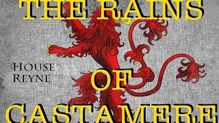 The Rains of Castamere (acapella cover + new mic test)
