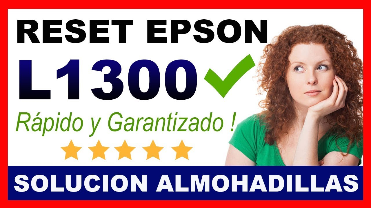 Reset Epson L1300 Download