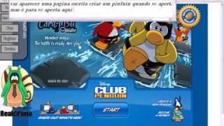 como se registrar no site do club penguin pirata