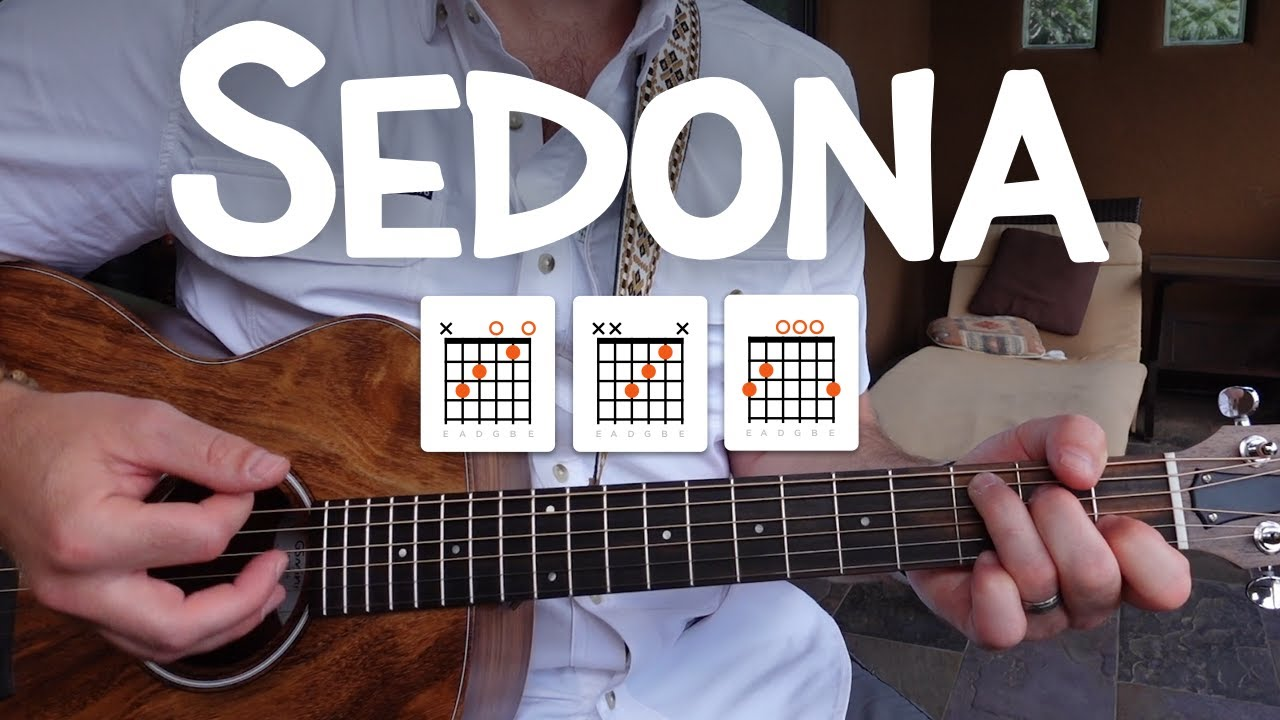 Sedona • Acoustic guitar cover & full lesson (Houndmouth)