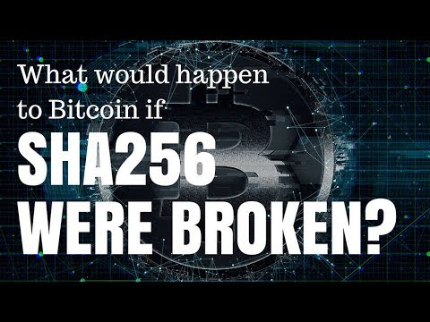 What Would Happen To Bitcoin If SHA256 Were Broken?