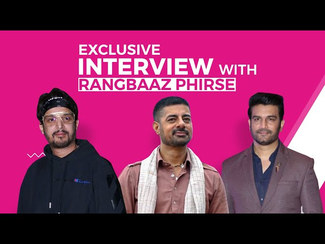 Jimmy Shergill, Sharad Kelkar, and Sushant Singh talks about their upcoming show 'Rangbaaz Phir Se'