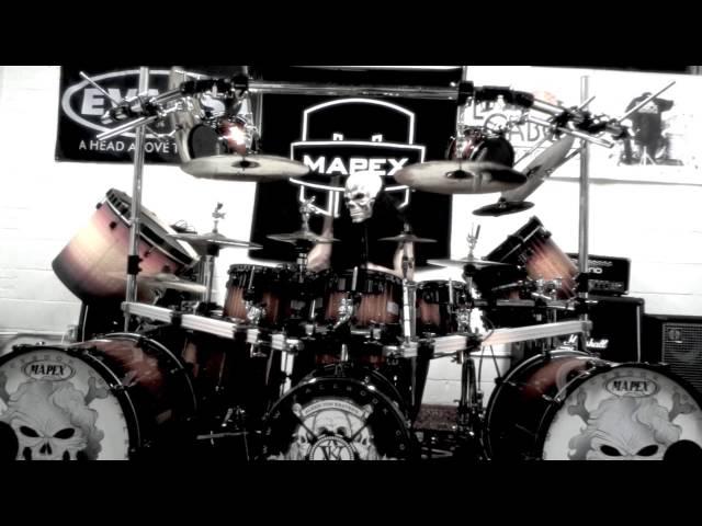 Triple Bass Drum Set Solo
