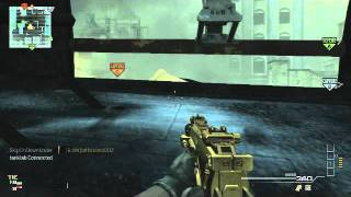MW3 MG Master Challenge! 5 Kills with mounted machine gun!