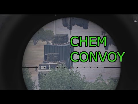 The Chemical Weapons Convoy: Arma 3 Vanilla ops