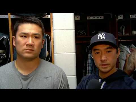 Masahiro Tanaka on his outing against the Rays