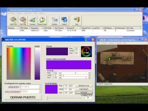 CONTROL LEDS  RGB VIA WIFI
