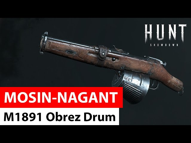 Mosin Nagant M1891 Obrez Drum in Hunt: Showdown