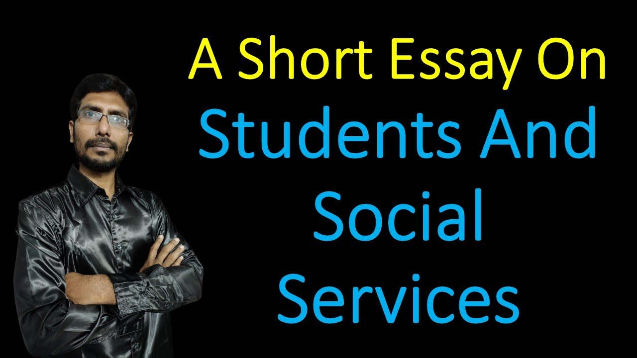Essay on peace through social service