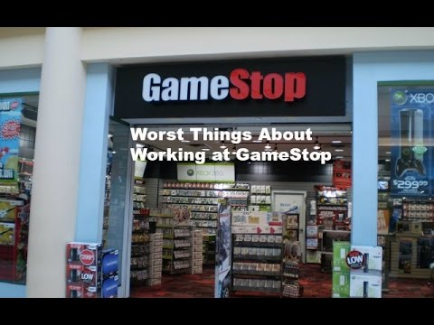 Worst things about working at Gamestop - YouTubeGamestop