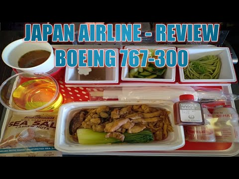 JAKARTA TO TOKYO BY JAPAN AIRLINE BOEING 767-300 REVIEW (NEW)