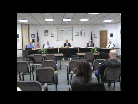 Rouses Point Village Board Meeting part two  4-17-17