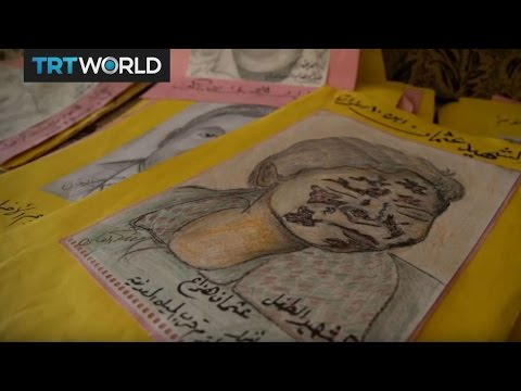 The Fight For Mosul: Iraqi artist recounts tragic scenes through art