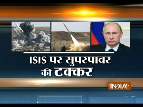 Who Is a Better Strategist on ISIS, Barack Obama or Vladimir Putin? - India TV