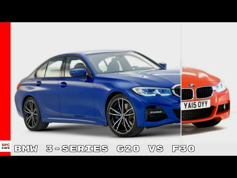 New BMW 3 Series G20 vs Older F30 Generation Design