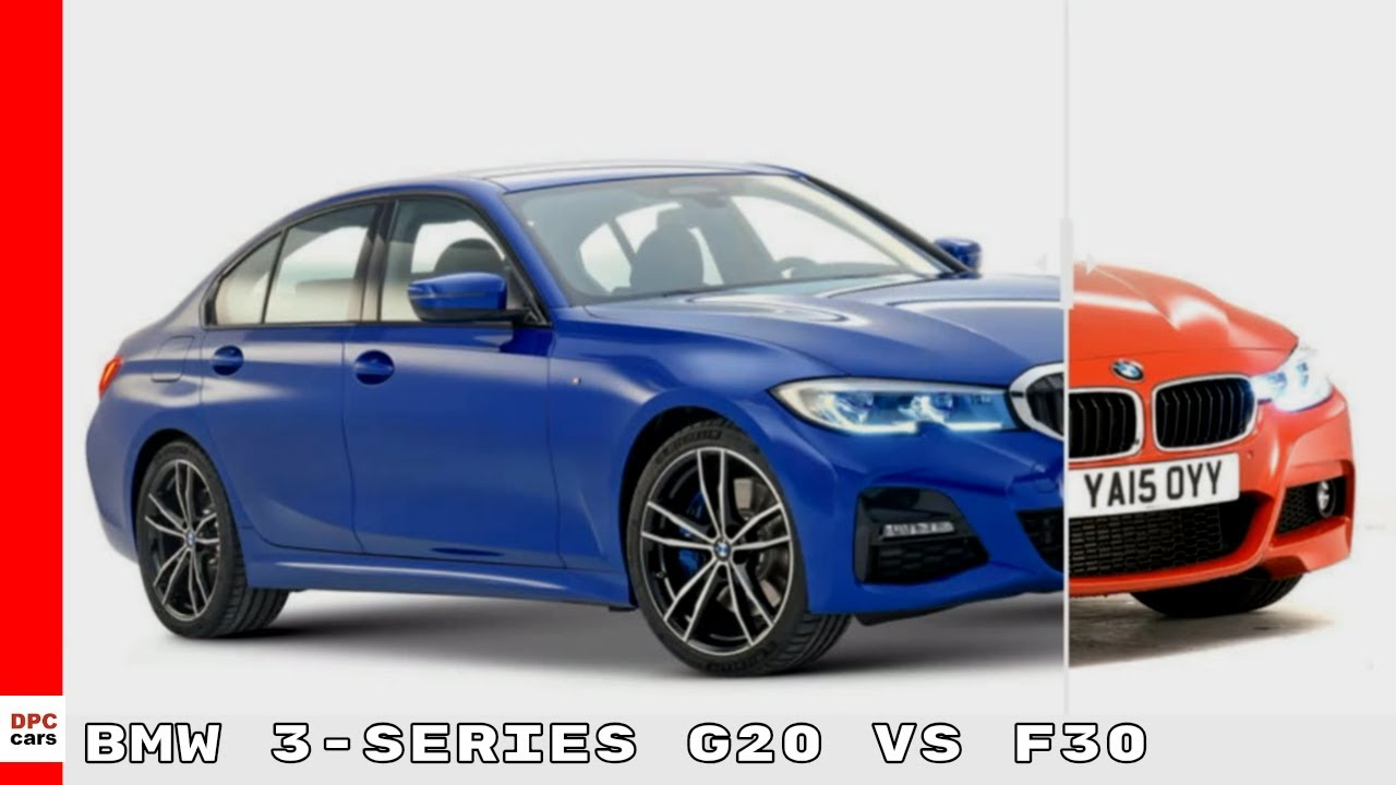 New Bmw 3 Series G20 Vs Older F30 Generation Design Youtube