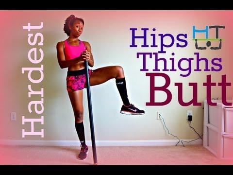 Hardest HIPS Thighs BUTT Workout EVER!