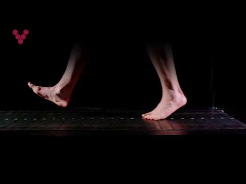Anatomical barefoot walking points