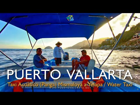Water Taxi Acuático: Mismaloya Boca Colomitos Las Ánimas Las Caletas Quimixto Majahuitas Yelapa