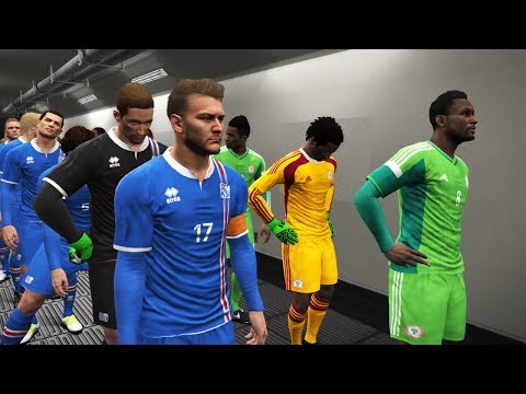Group D | Iceland vs Nigeria Full Match | FIFA World Cup 2018 Russia | Gameplay PC