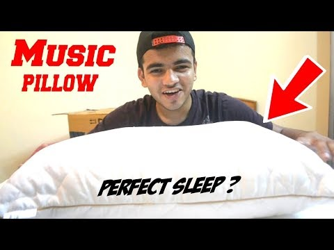 Music Pillow = Perfect Sleep ! {Music for Bed} HomeCare24's Music Fibre Pillow ! Weird Tech India ?