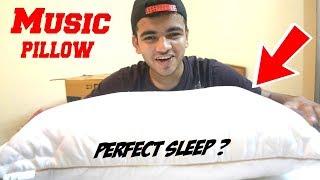 Music Pillow = Perfect Sleep ! {Music for Bed} HomeCare24's Music Fibre Pillow ! Weird Tech India ?
