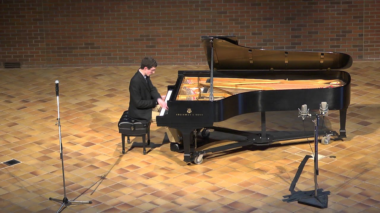Frederic Rzewski's piano piece #4, from Four Pieces for Piano, by Johnathan Raine.