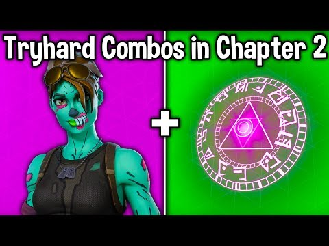 10 MOST TRYHARD SKIN + BACKBLING COMBOS In CHAPTER 2! (Fortnite Tryhard Combinations Season 11)