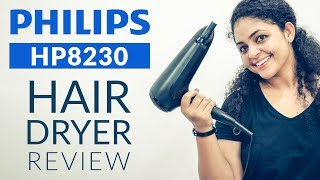 Philips Hair Dryer HP8230 Review | Philips Professional Hair Dryer
