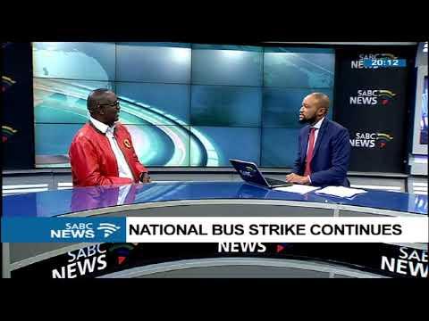 Zwelinzima Vavi on the national bus strike