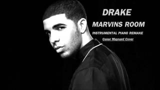 Drake - Marvins Room [Piano Instrumental Remake]