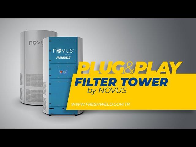 Tak-Çalıştır Merkezi Duman Emme ve Filtreleme Kulesi 💙 Central Extraction & Filtering Tower
