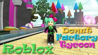 ROBLOX | Donut Fabrik Tycoon | Nationaler Donut-Tag | SallyGreenGamer