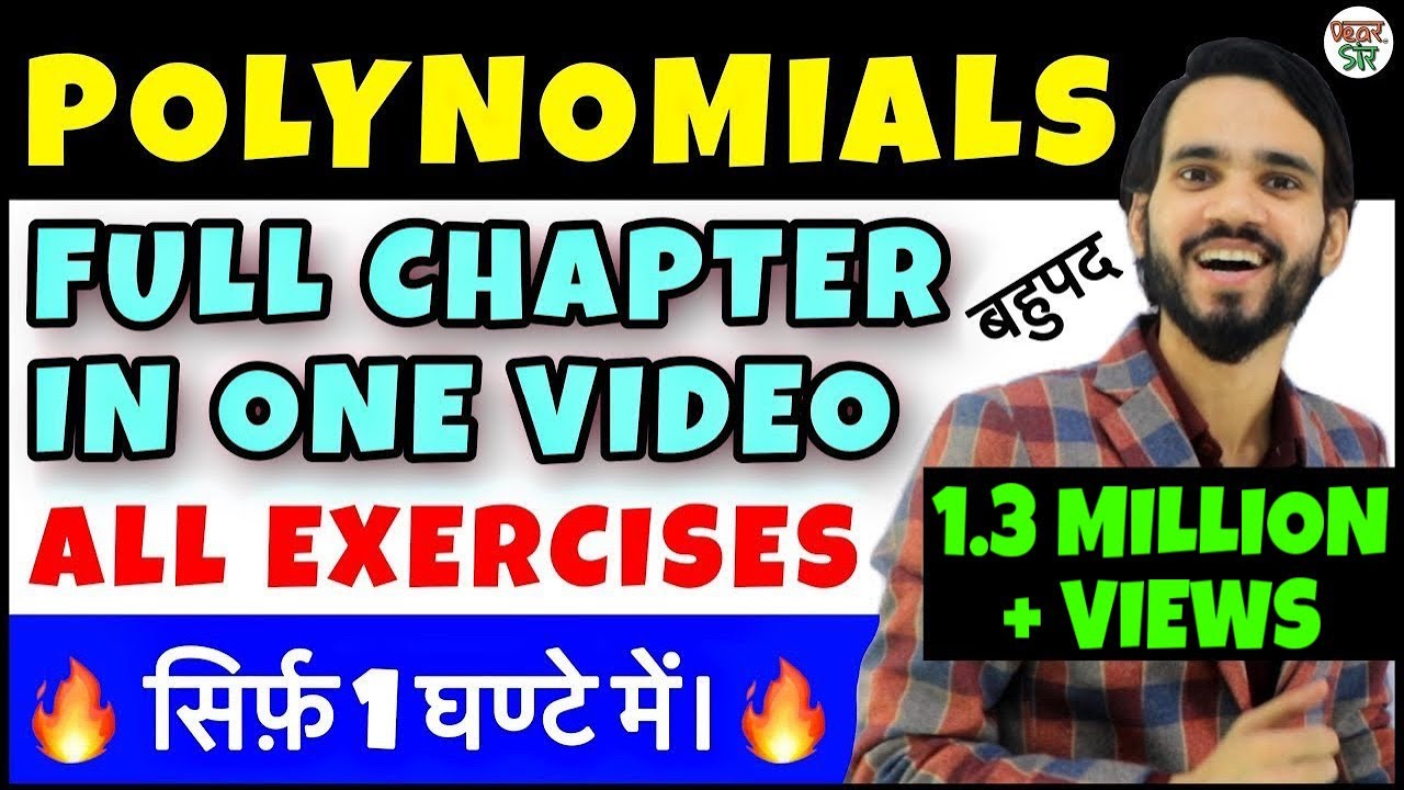 Download Polynomial | Polynomials Class 10/9 | Class 10 Maths Chapter 2 | Regression/Functions/Equations/CBSE