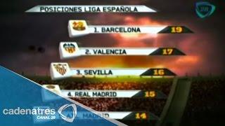 Así marcha la clasificación de la Liga española luego de siete fechas