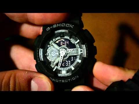 Часы casio g shock как настроить время