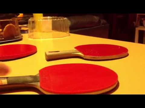 How to clean your table tennis bat