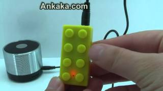 LEGO Style Yellow Brick MP3 Player | MP3 Player Review