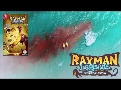 Rayman Legends Definitive Edition : trailer Nintendo SWITCH