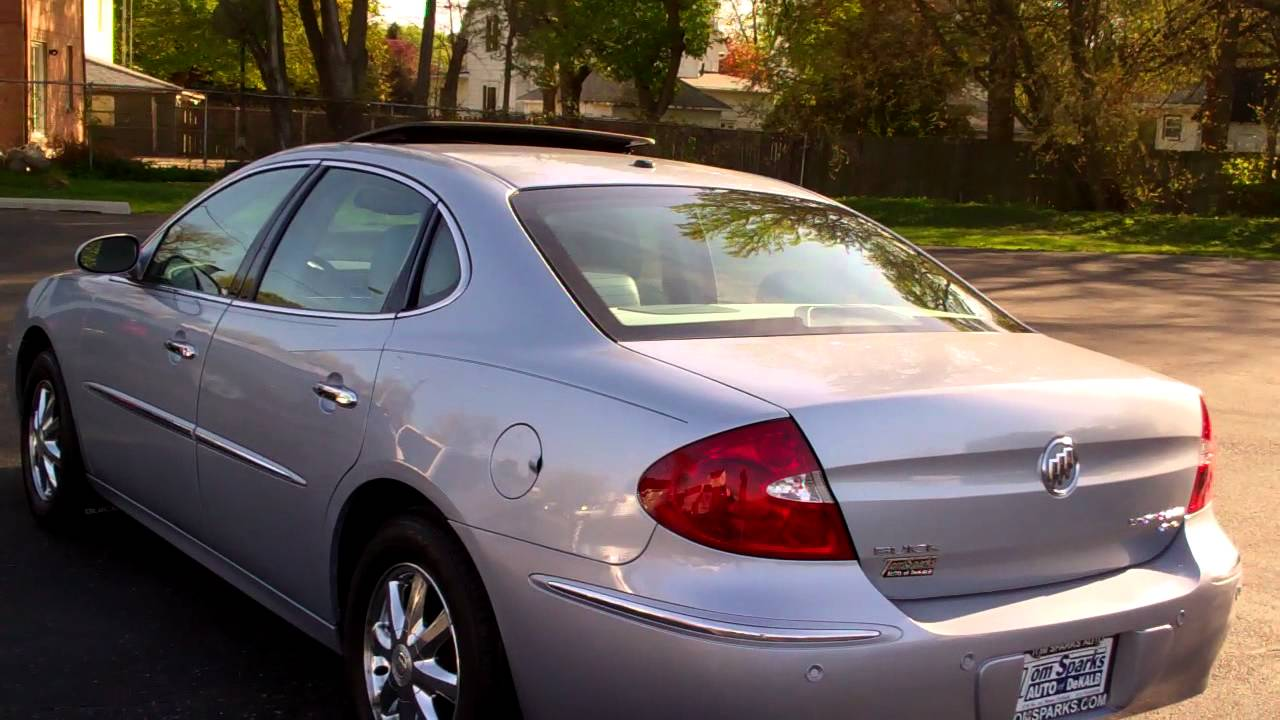 2005 Buick Lacrosse CXL 4dr with sunroof Dekalb IL near ...