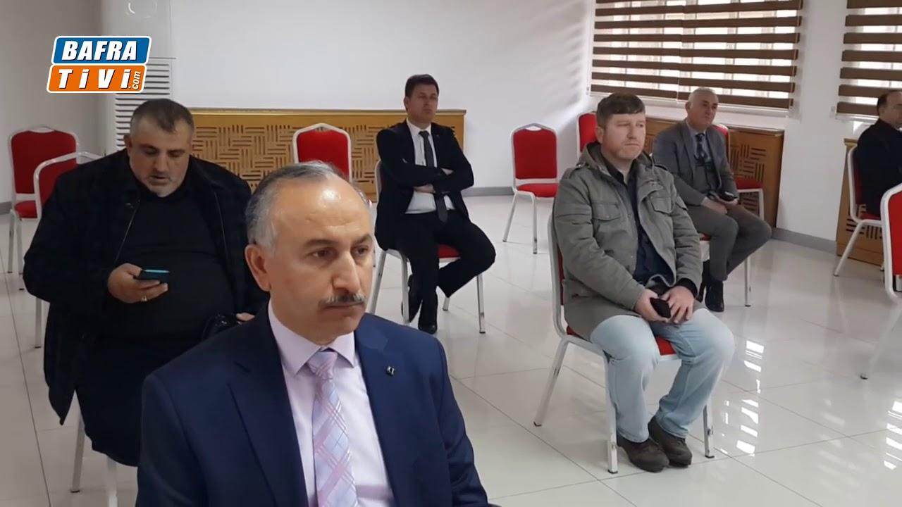 Bafra'da KORONA Virüsü Tedbirleri Açıklandı