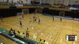 2019年IH ハンドボール 男子 3回戦   瓊浦(長崎)VS 氷見(富山)