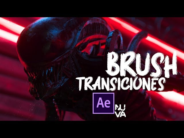 Brush Transiciones After Effects Tutorial