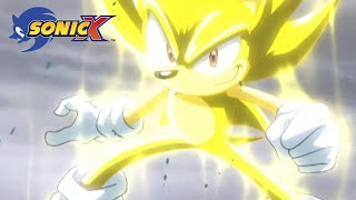 Download lagu Super Sonic battles gigantic water monster | Sonic X
